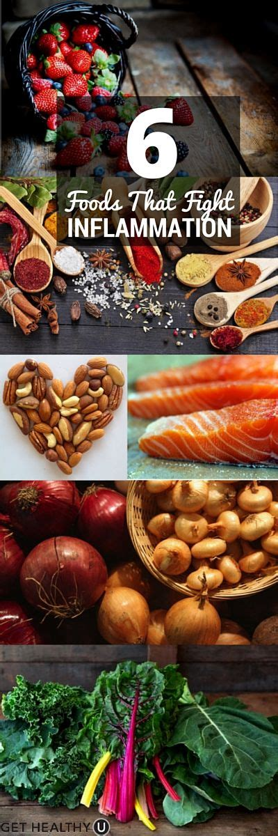 7 Foods To Combat Stress by 6 Foods That Fight Inflammation Get Healthy U