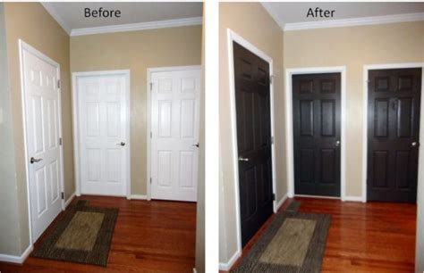 Black Interior Doors With Stained Trim All About House Interior Doors For Sale