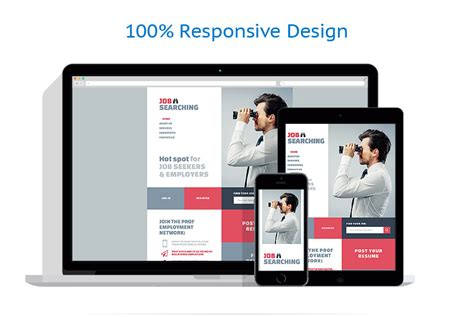 job portal responsive website template 57619 by wt business website template 53408 templates com