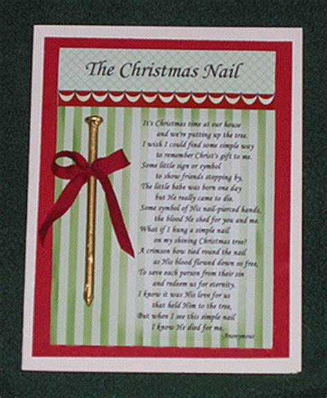 printable christmas nail poem the christmas nail 174