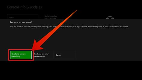 One One Default guide to reset xbox one to factory default settings