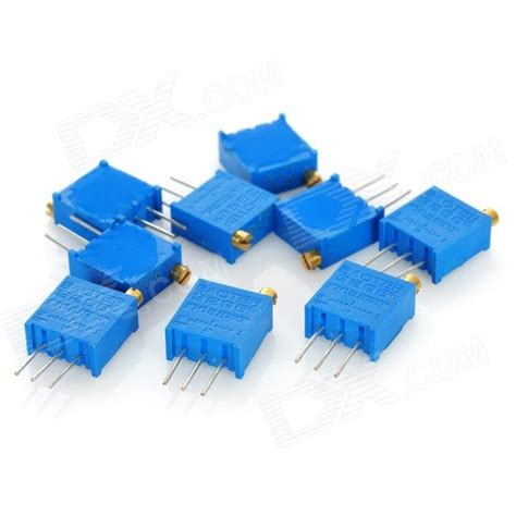 variable resistors in the home 3296 high precision 203 20k ohm variable resistor potentiometer trimmers blue 10 pcs free