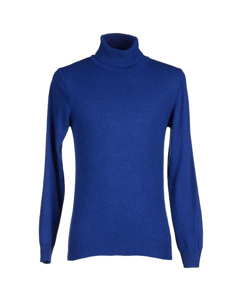 Blue Turtleneck by Lyst Retois Turtleneck In Blue For