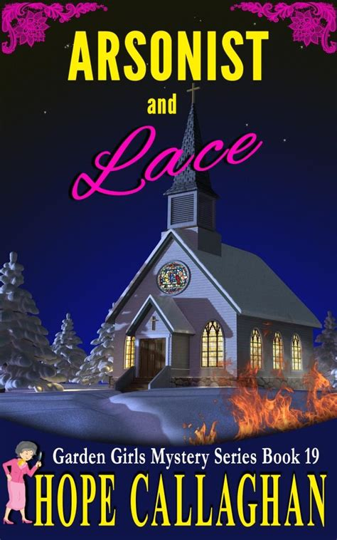 arsonist and lace my brand new cozy mystery book