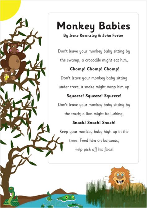 the inner of animals surprising observations of a world books monkey babies poem eyfs ks1 poetry free early years