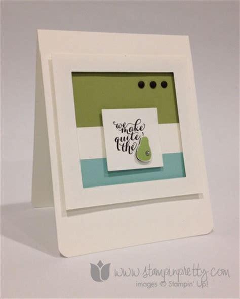 New Home Handmade Card Ideas - quite the pair anniversary card stin pretty