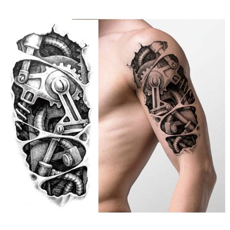 tato mekanik keren popular cool men tattoos buy cheap cool men tattoos lots