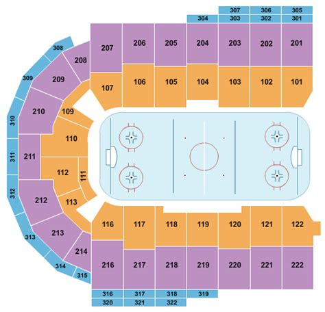 erie insurance arena seating chart maps erie