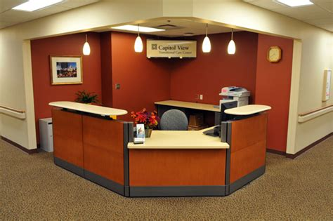 hospital front desk hiring capitol view transitional care center st paul minnesota