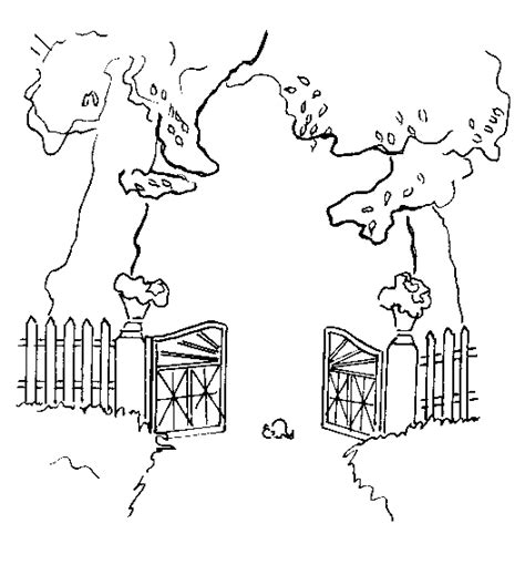 i am the gate coloring page coloring pages