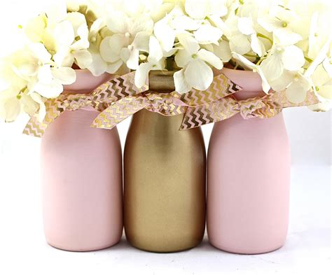 Baby Shower Centerpieces pink and gold baby shower decorations first birthday party