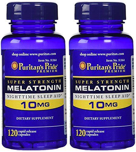 Puritan S Pride Strength Melatonin 10 Mg 120 Kapsul puritan s pride strength rapid release capsules