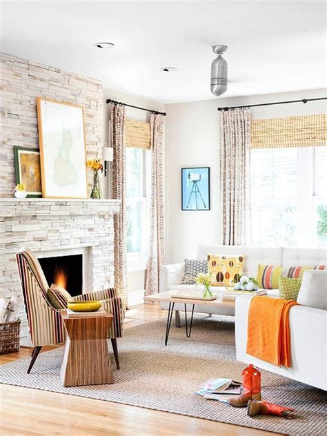 casual window treatments living rooms