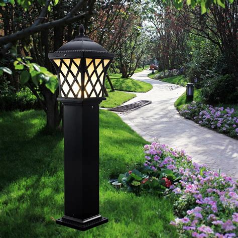 backyard l post outdoor solar l post lights reusable revolution 3 led