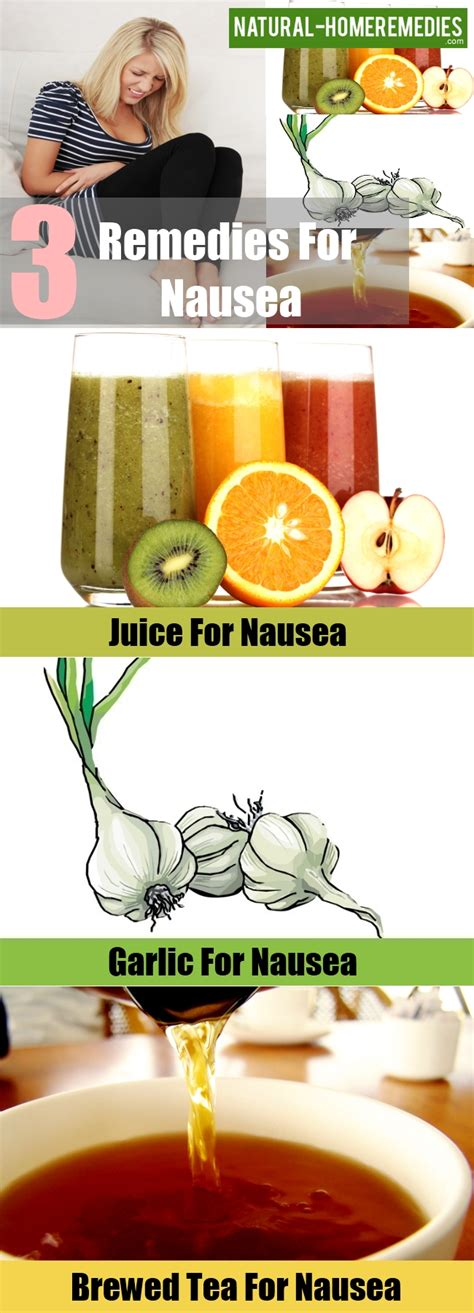 3 home remedies for nausea home remedies