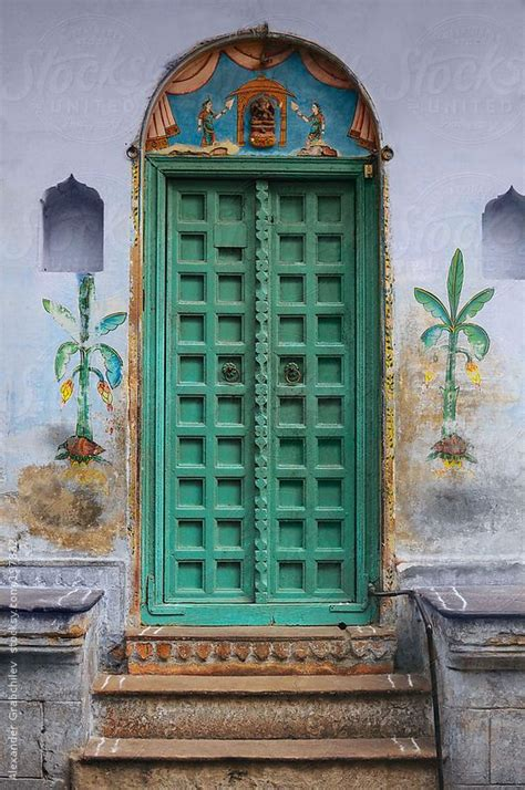 Indian Doors by Traditional Indian Door By Grabchilev Stocksy
