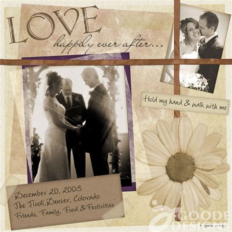 Wedding Scrapbook Layouts Ideas by Why I To Scrapbook The Of Jen Goode