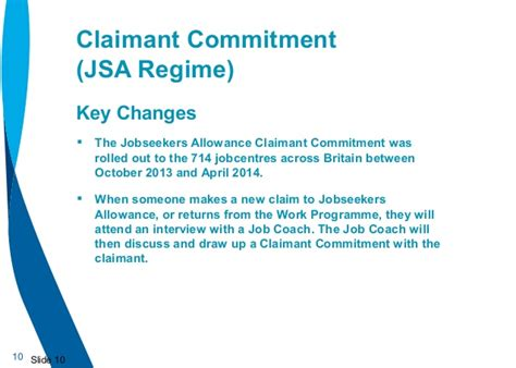 universal credit vision jobseekers allowance claimant