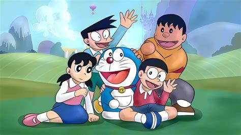 anime doraemon download wallpaper 1366x768 doraemon classic anime hd
