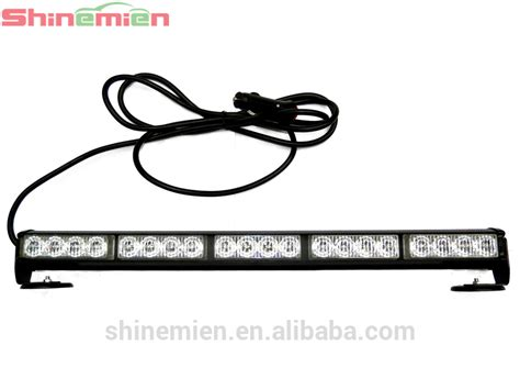 roof rack emergency light bar white blue led strobe light bar car roof led light bar