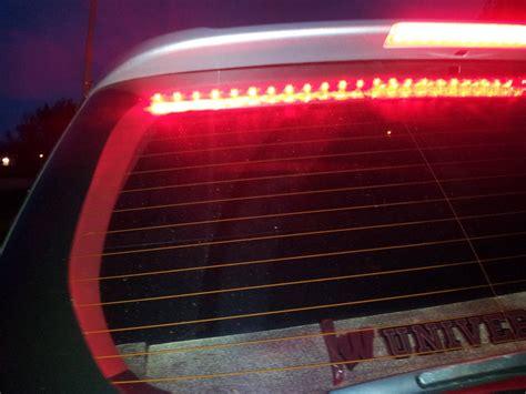 Diy Led Light Bar 20120428 201052 Cadillac Led Lightbar On My Subaru 6976971170 O