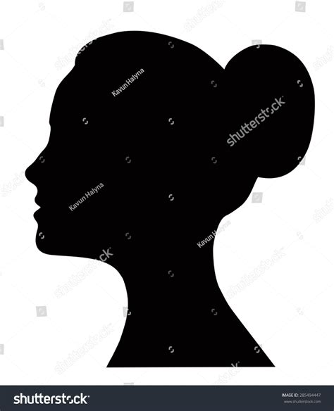 Hairstyle Tools Designs For Silhouette by Profile Beautiful Silhouette Logo Design Stock