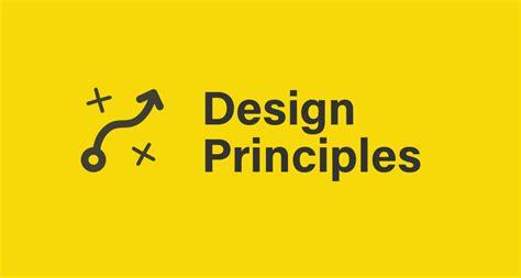 design principles design principles