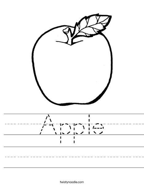 manuscript template for apple pages apple worksheet twisty noodle has tons of worksheets