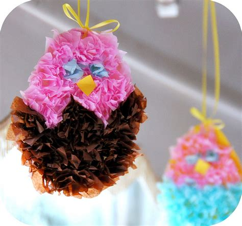 Tissue Paper Easter Crafts - fluffy tissue easter lesson plans