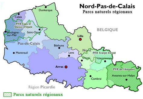si鑒e social nord pas de calais fichier carte pnr du nord pas de calais png wikip 233 dia
