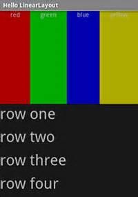 linearlayout adalah layout pemograman mobile