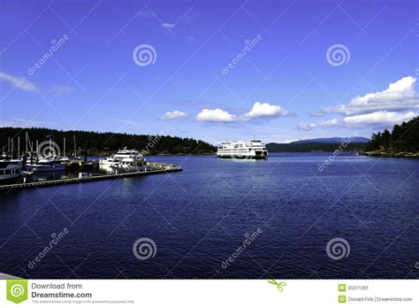 at friday harbor read friday harbor stock image image 20371281