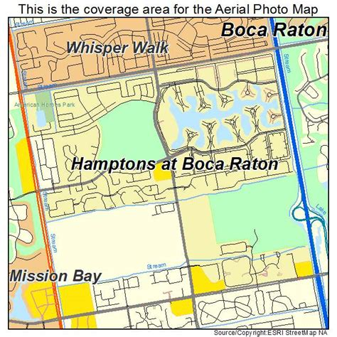 florida map boca raton aerial photography map of htons at boca raton fl florida