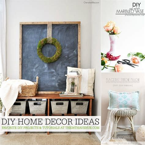Diy Home Interior The 36th Avenue Diy Home Decor Ideas The 36th Avenue