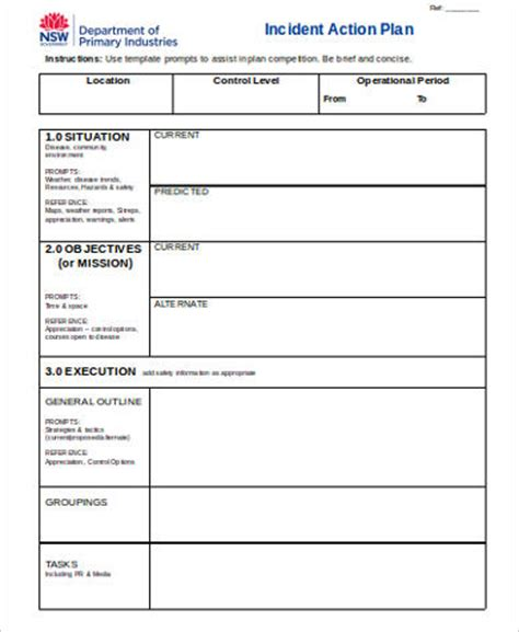 business plan template nsw plan format sle 30 exles in word pdf