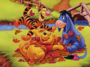 winnie the pooh thanksgiving wallpaper wallpapers of tigger