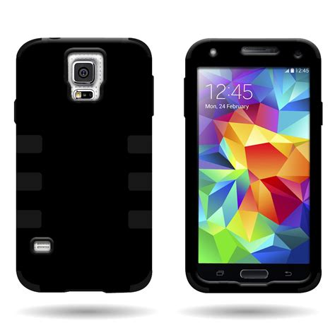 samsung s5 rugged for samsung galaxy s5 hybrid protective rugged slim tough phone cover