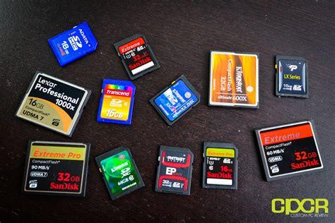 Memory Card Pc Best Memory Card Roundup 13 Memory Cards Tested Custom