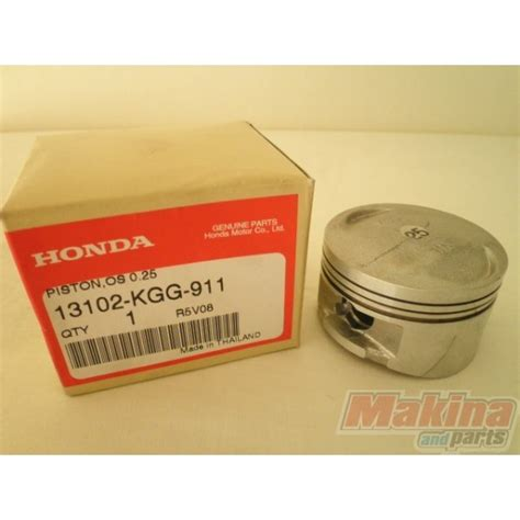 Piston Only Rc110 Size 025 honda oversized pistons