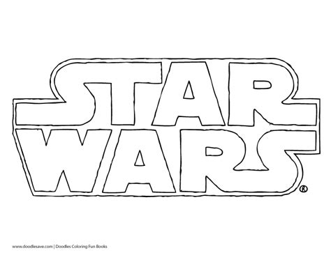 coloring pages star wars logo white anchor clip art sketch coloring page