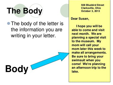 Letter Capital After Salutation how to write a friendly letter