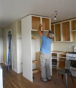 home build refrigerator surround search kitchen