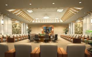 Conference Room Design Ideas by Business Conference Hotel Luxurious Reception Room 3d