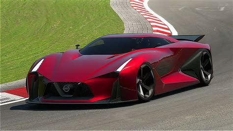 Nissan 2020 Vision Gt by Gran Turismo 6 Nissan Concept 2020 Vision Gt At