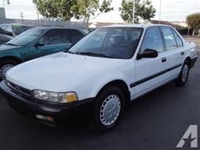 1991 Honda Accord For Sale 1991 Honda Accord Dx For Sale In San Leandro California