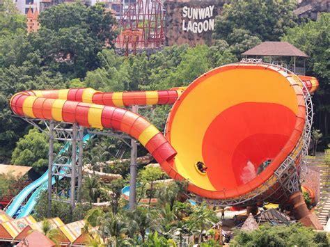 theme park yang paling best water park sunway lagoon theme park