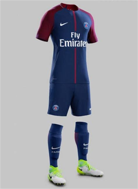 Jersey Home Psg germain jersey 2017 2018 home away and third