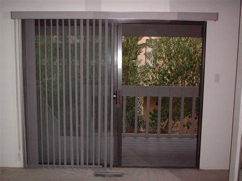 Sliding Glass Door Blinds Ideas John Robinson House Decor Sliding Patio Door Window Treatments