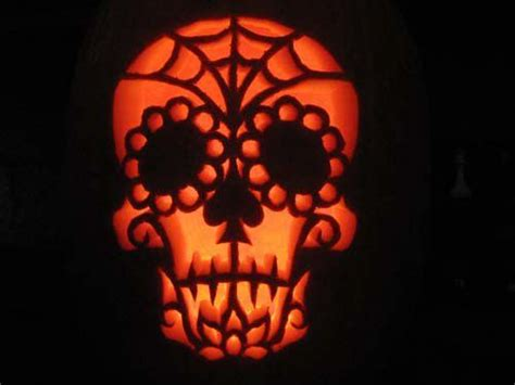 day of the dead pumpkin template 17 best images about ideas on spider
