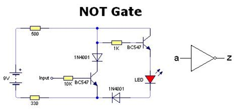 diode circuit for not gate pics for gt or gate circuit diagram using diode